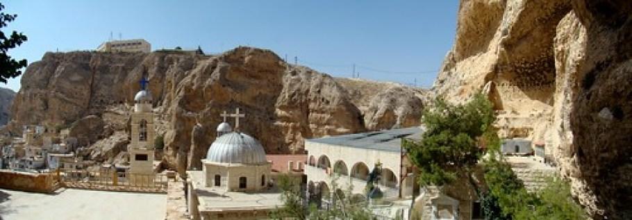 panoramica Siria-Monasterio Santa Tecla/Mar Taqla-Maalula 01