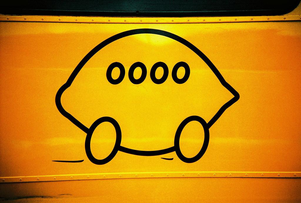 *檸檬有益皮膚健康,黃檸檬巴士更有益地球健康!:The Big Lemon! 7