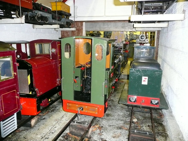 Cog Railway Engine Shed