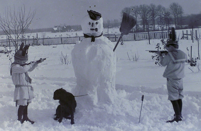 Death of Frosty - detail