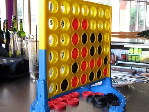 Connect Four on the Bar