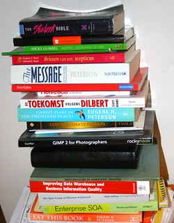 Book piles in the wild 5