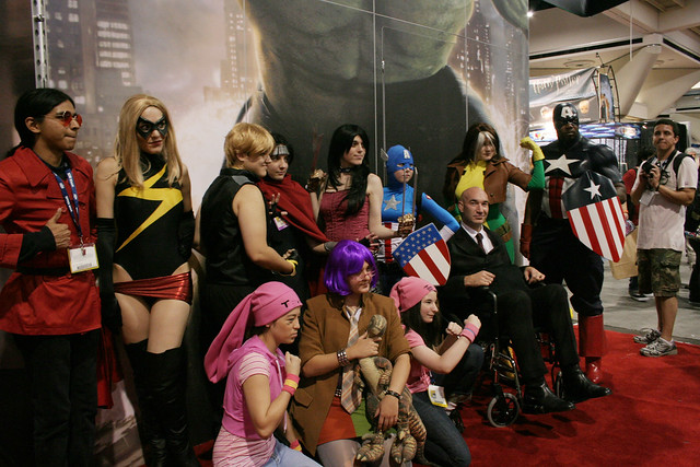 Cosplayers at San Diego Comic-Con