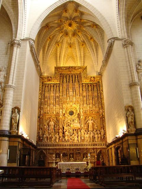 Zaragoza Retablo y altar mayor La Seo Catedral de San Salvador 39