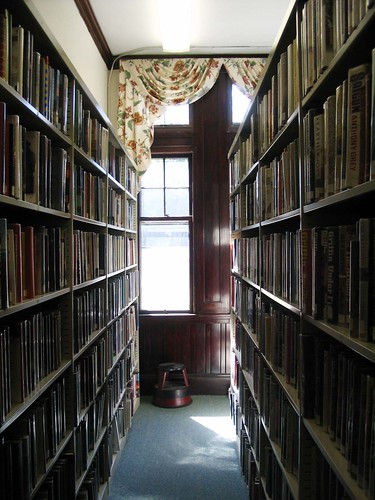Rumford Library, in the stacks