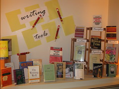 Writing Display by Pesky Library