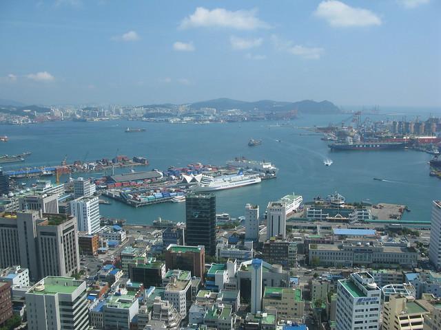 Busan harbour