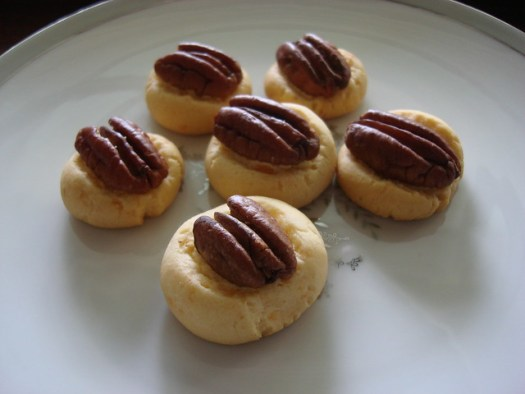 Pecan Party Biscuits