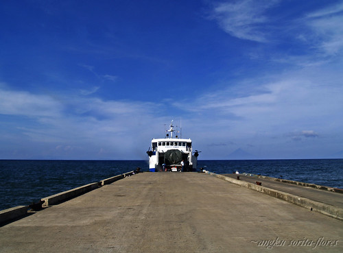 roro in san andres port, catanduanes