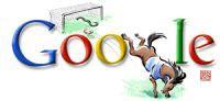 Google logo olimpiadi pechino football  by pipot83