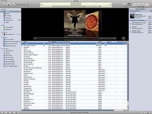 I stumped the iTunes Genius Sidebar