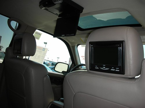 Portable DVD players for cars are a great way of keeping children entertained on long journeys