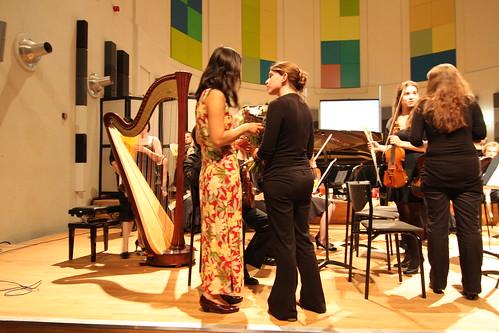 Not the concert itself, Utrecht Conservatory June 2008. Photo: F. vd Meer