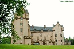 FYVIE Castle, Grampian region, Scotland
