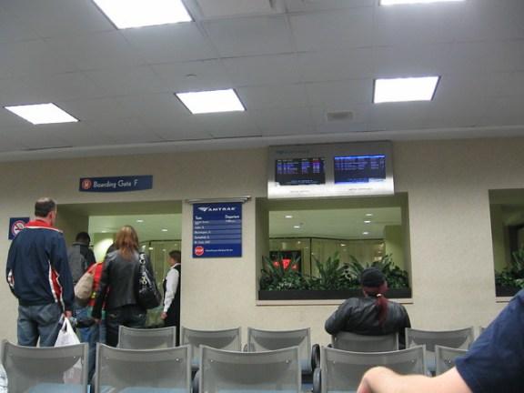 Union Station waiting area