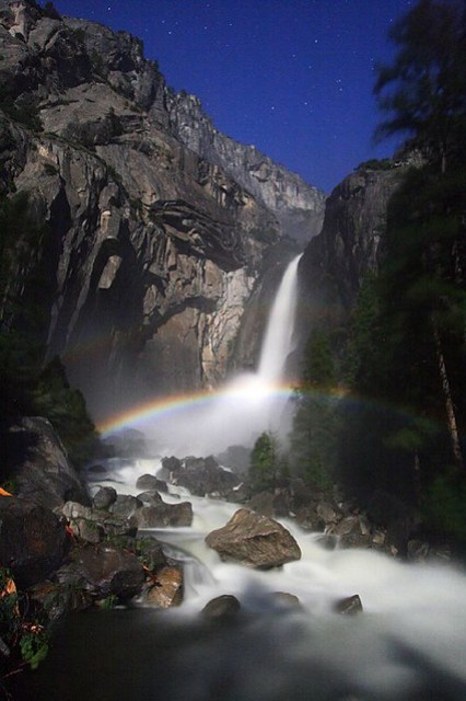 Lower Yosemite Falls Moonbow