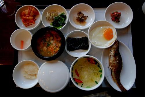 Korean breakfast by Scott Butner