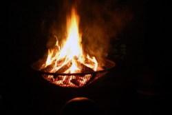 Closeup fire
