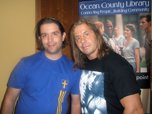 Me with Bret Hart