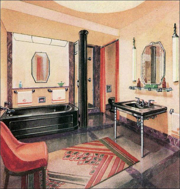 1930s Bathroom A Gallery On Flickr