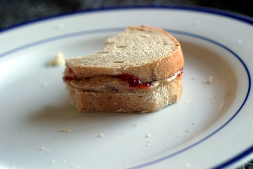 Completely home made pb&j