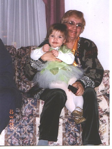 Tinkerbell and Mom mom
