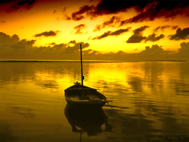 Sunrise @ Addu - Maldives