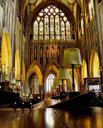 Wells Cathedral quire