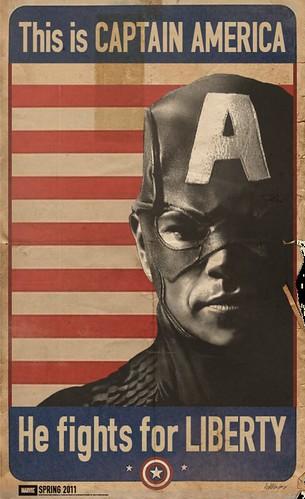 Captain America WWII Propaganda