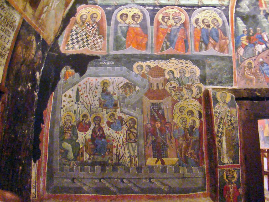 Arbanassi Iglesia de la Natividad de Cristo Bulgaria 15