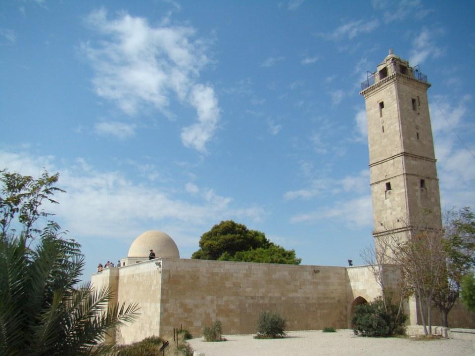 Siria Gran Mezquita Ciudadela de Alepo 45