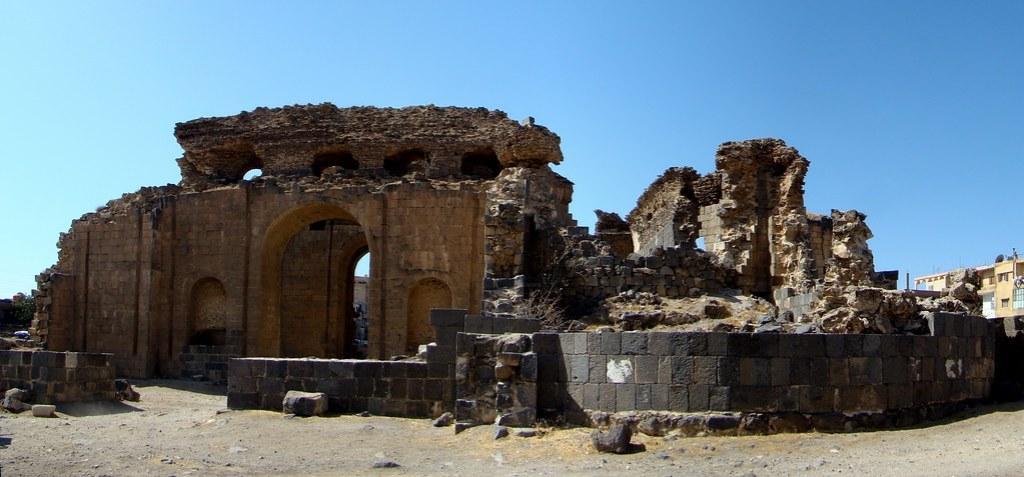 Termas baños romanos Shahba Siria 03