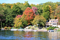 Fall on Candlewood Lake