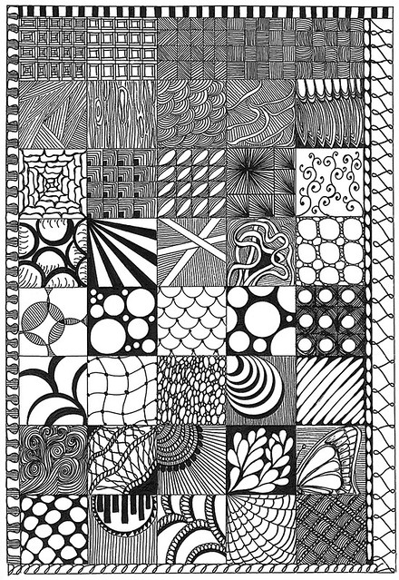 Zentangles A Gallery On Flickr