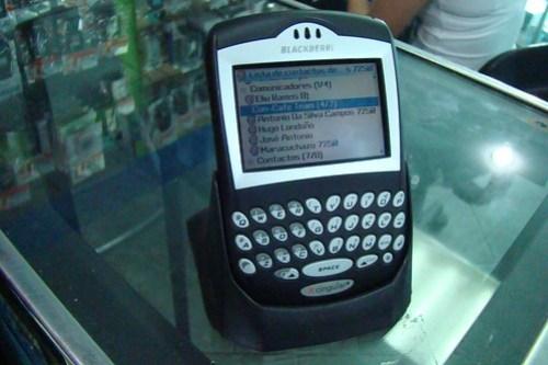 Cuna BlackBerry 7250