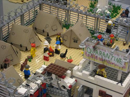 Zombie Apocafest 2008 - Justin's quarantine camp