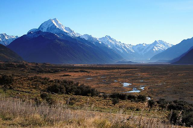 Mount Cook/ Aoraki, New Zealand