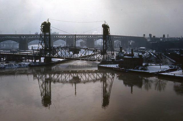 Eagle St Bridge Cleveland Ohio 021462