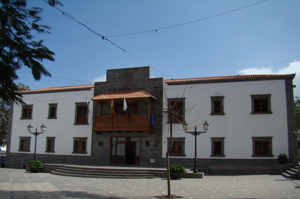 Ayuntamiento Plaza de Santiago San Bartolome de Tirajana Isla de Gran Canaria 53