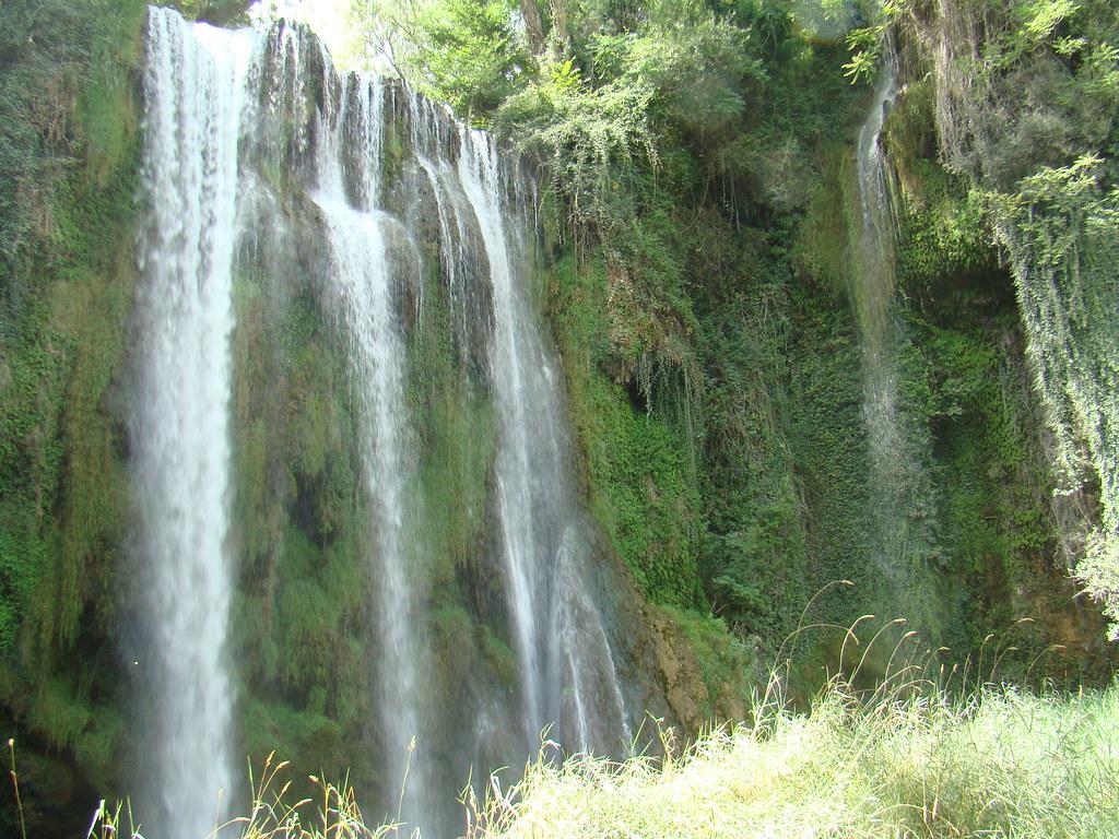 Cascada La Caprichosa Parque del Monasterio de Piedra Nuevalos Zaragoza 009