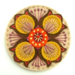 MARRAKESH FELT BROOCH