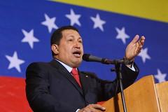 Chávez en Pdvsa