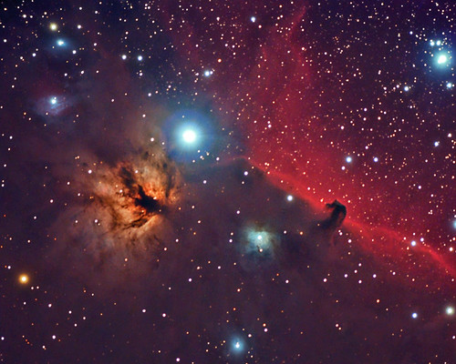 Orions belt or The Horse Head Nebula