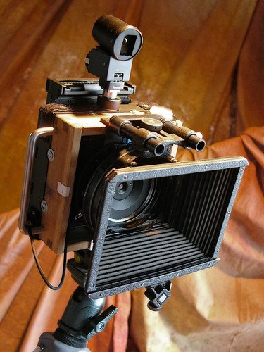 Homemade pinhole camera by Imre Becsi