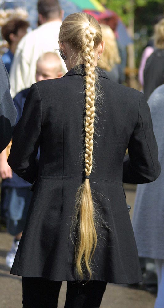 Long Blonde Braid A Photo On Flickriver