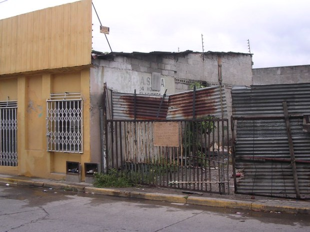 Common Blight in San Pedro Sula, Honduras from Flickr via Wylio