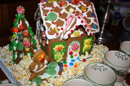 Spencer's Gingerbread house