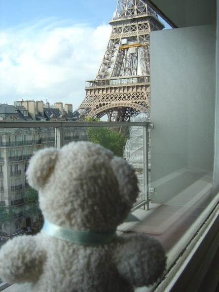 Hilton Hotel Eiffel Tower Suffren Paris France (Room 716)
