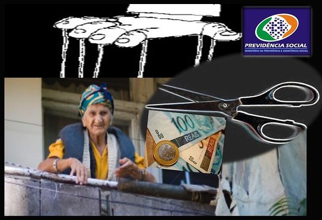 Inss corta Dinheiro Beneficio dos idosos