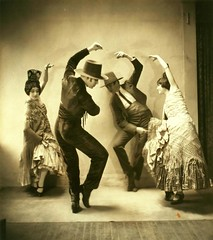 Ted Shawn and Denishawn Dancers in Pas de Quatre or Sevillan...